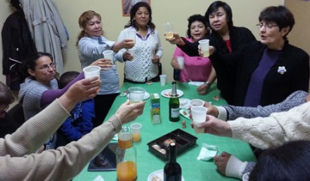 EL GRUPO ARCO IRIS NOS FELICITA LAS NAVIDADES