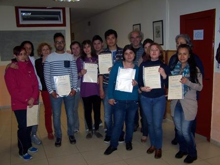 INCORPORA2.0: ENTREGA CERTIFICADOS TALLERES HHSS PARA LA BÚSQYEDA ACTIVA DE EMPLEO