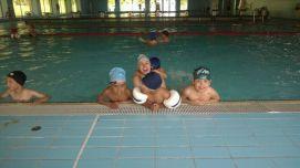 patricia en la piscina