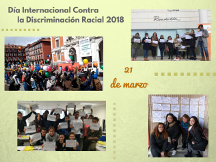 21 marzo 2018 Valladolid discriminación