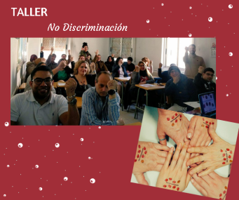 collage taller no discriminacion