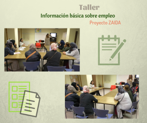 collage taller empleo zaida