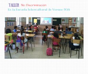 taller no discriminación escuela verano 2018