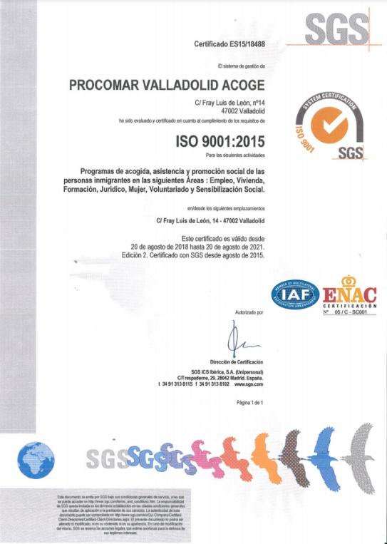 imagen certificado de calidad