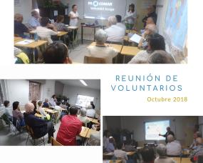 reunion voluntarios octubre 2018