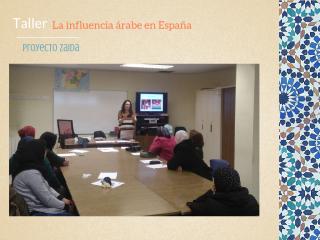 taller influencia árabe zaida