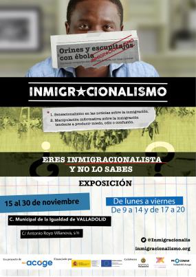 CARTEL EXPOSICIÓN INMIGRACIONALISMO