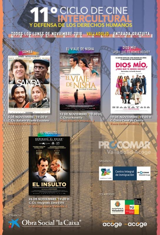 CARTEL_Ciclo Cine Intercultural 2018_Procomar