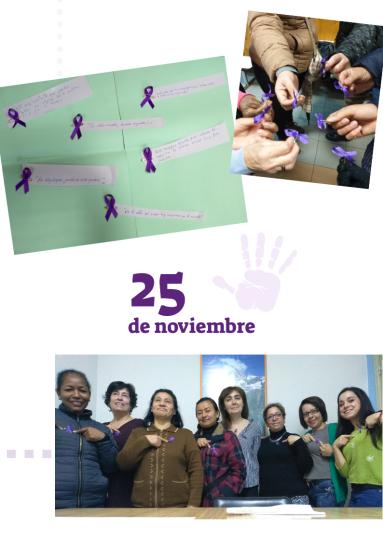 collage día violencia género mujeres