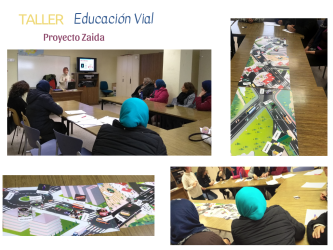 collage educacion vial zaida