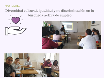 collage taller diversidad cultural BAE