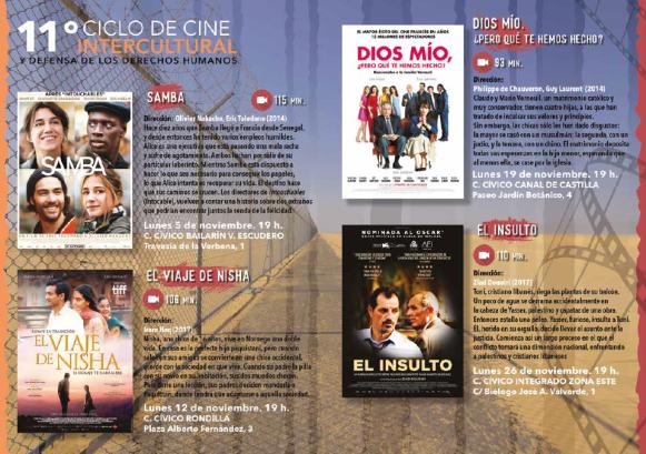 Programación 11 Ciclo Cine Intercultural_Procomar