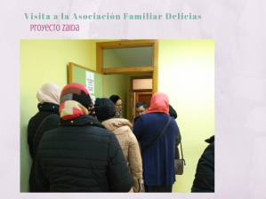 Visita a la Asociación Familiar Delicias