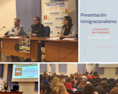 collage presentación inmigracionalismo 2018