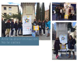 Ante la discriminación_ No te calles