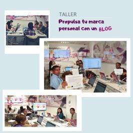 TALLER Propulsa tu marca personal con un blog
