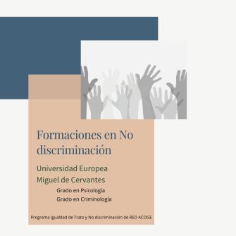 Formaciones en No discriminación